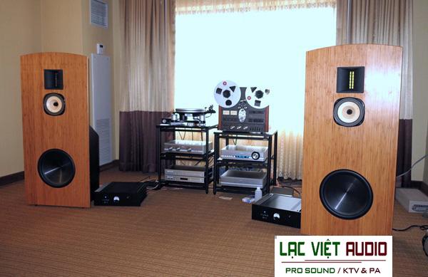 Loa đồng trục Lowther 600 trong dàn âm thanh cổ