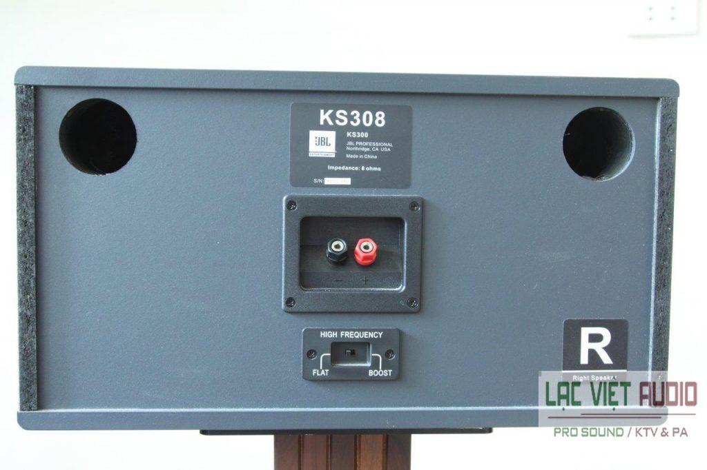 Mặt sau loa JBL KS308