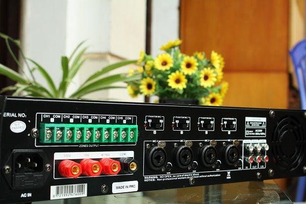 Amply DB LP-200T chia 5 vùng công suất 200W