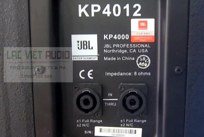 Mặt sau Loa JBL KP 4012