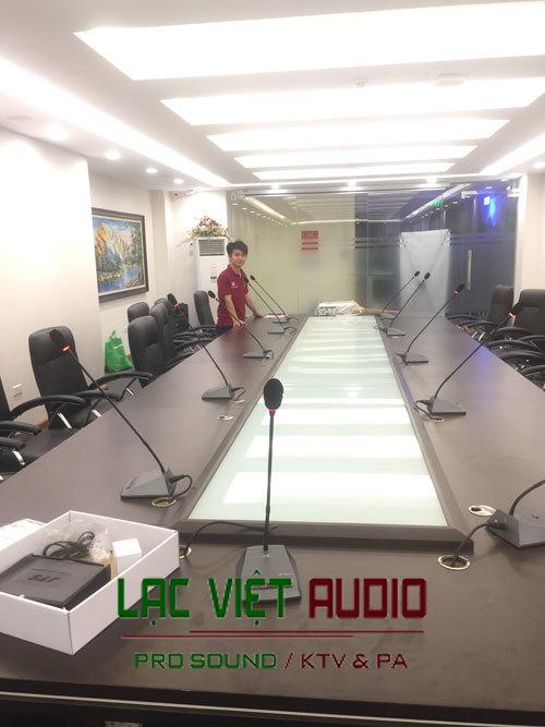 Lắp đặt micro OBT cho phòng họp cao cấp
