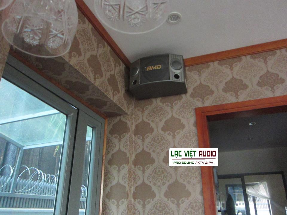 Lắp loa BMB CSX 1000SE cho phòng karaoke