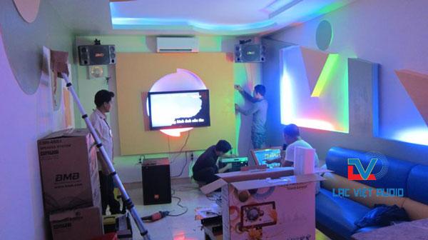 Lắp đặt BMB CSX 850SE trong hệ thống karaoke