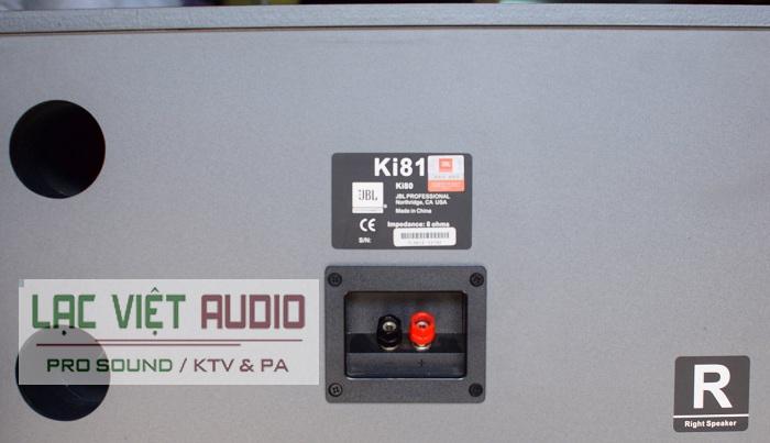 mặt sau loa JBL KI8141