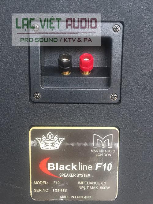Bảng thông tin loa martin f10 bãi