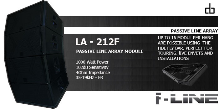Dòng loa LA 212F