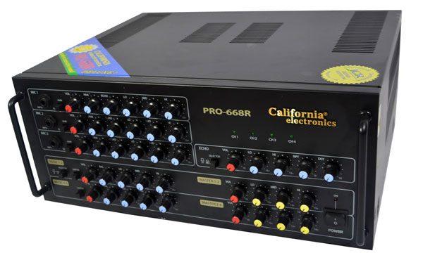 Mặt trước california PRO 868R
