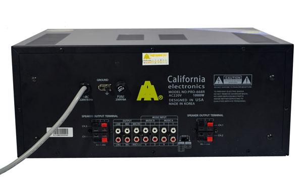Mặt sau california PRO 868R