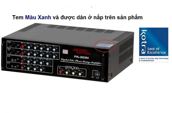 Amply Jarguar 203N liên doanh Việt – Hàn