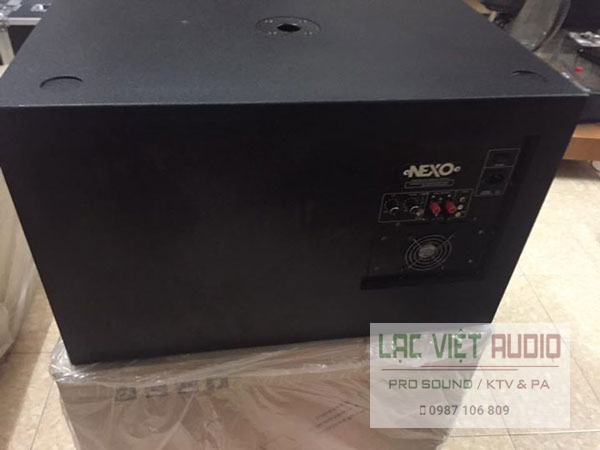 Mặt sau loa sub điện Nexo D40