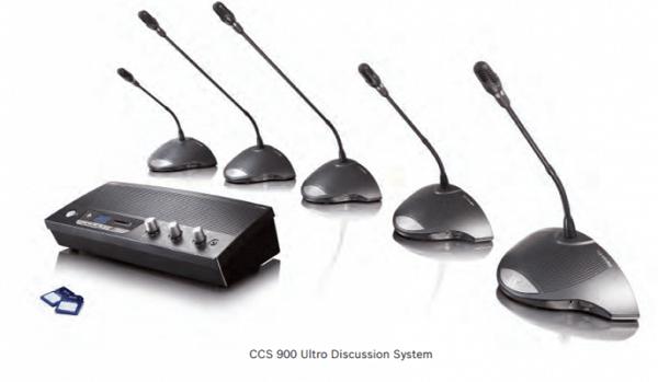 Âm thanh hội nghị Bosch CCS-900