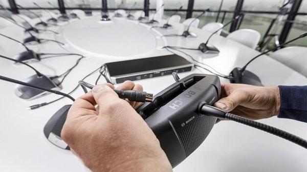 Có nên chọn giải pháp âm thanh hội nghị Bosch hay không?