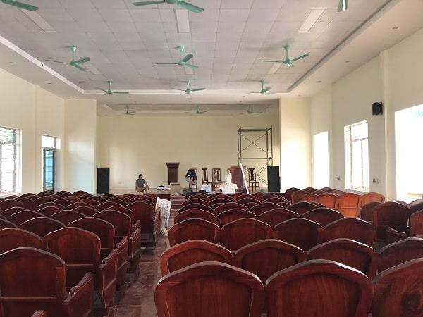 Bộ dàn âm thanh hội trường giá rẻ phục vụ hội họp