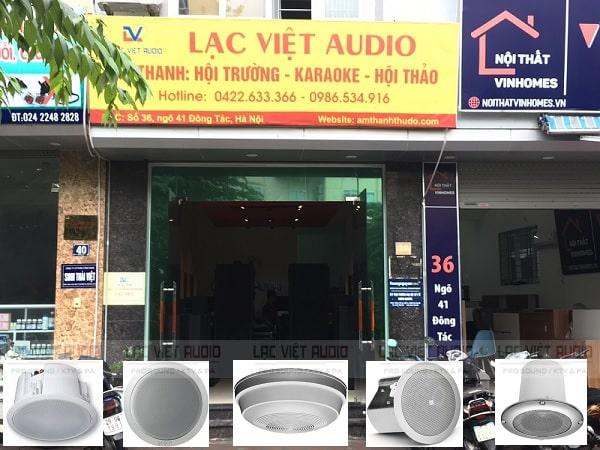 Thanh lý loa âm trần uy tín tại Lạc Việt Audio