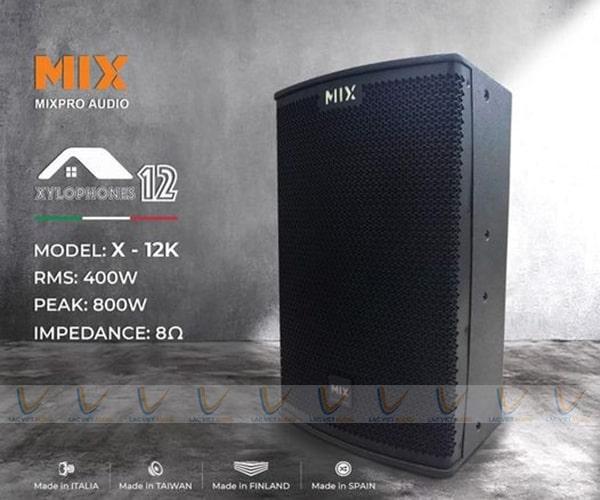 Loa karaoke MIX X12K chính hãng