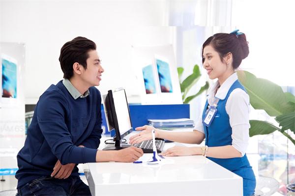 Tiếp nhận thông tin của khách hàng